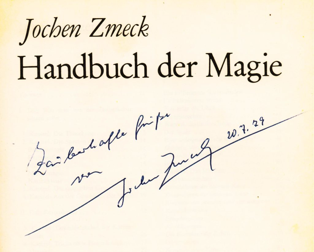 Autogramm Jochen Zmeck